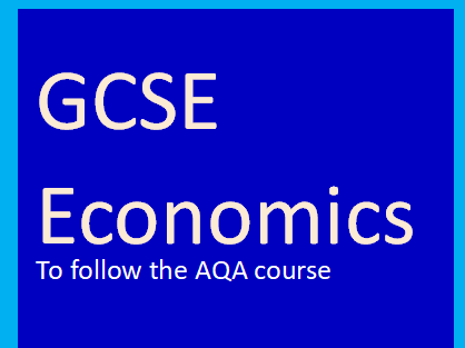 AQA GCSE Economics-Government objectives