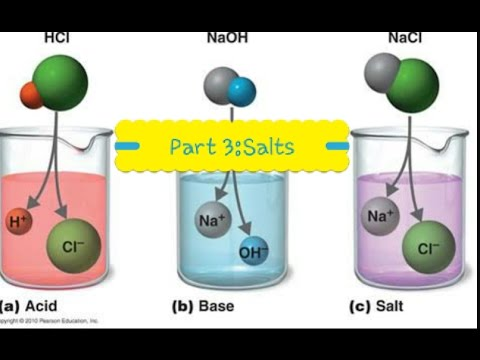 Acids and Alkalis, Neutralisation and Salt formation