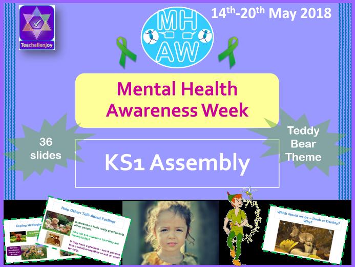 Mental Health Awareness Week 2018 KS1 Assembly