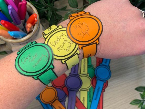Reminder watches for those forgetful minds