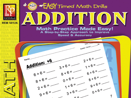 Addition: Easy Timed Math Drills