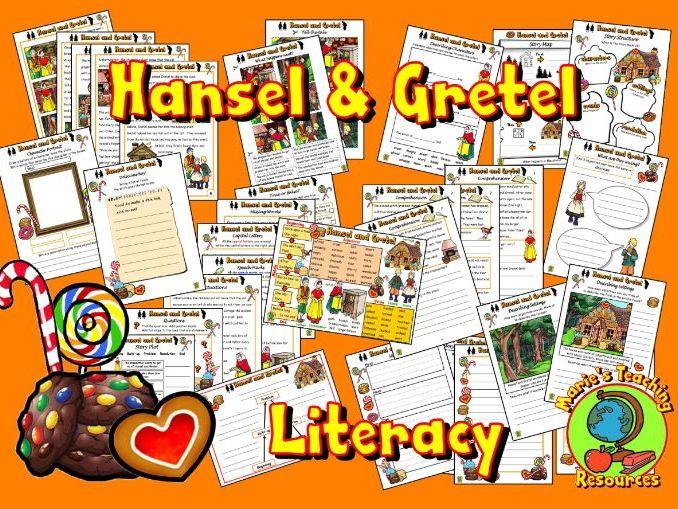 Hansel and Gretel – Worksheets