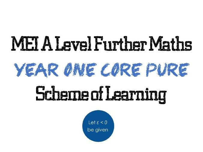 MEI AS Core Pure Scheme of Learning