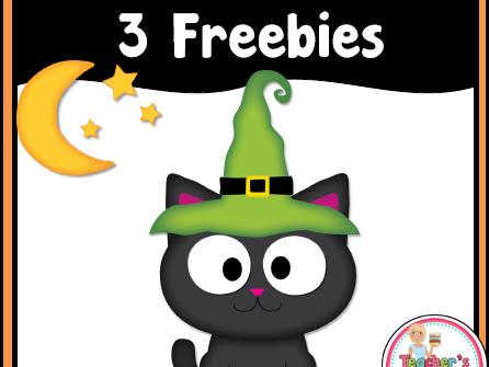 FREE Halloween Graphic Organizers
