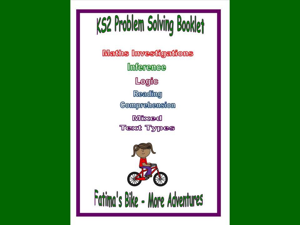 Fatima's Bike - More Adventures, Problem Solving Booklet for KS2