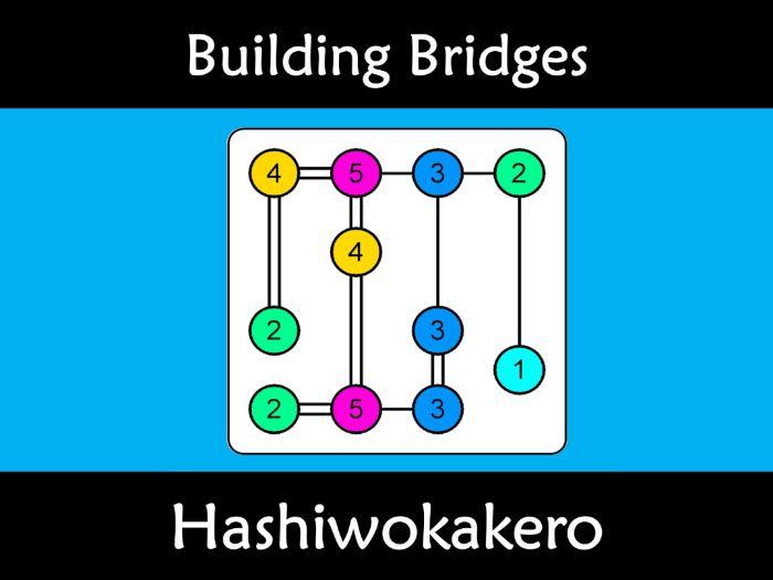 Growth Mindset: Building Bridges and Islands (Hashiwokakero) Easier Version