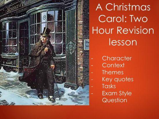 Christmas Carol - Full Revision Lesson