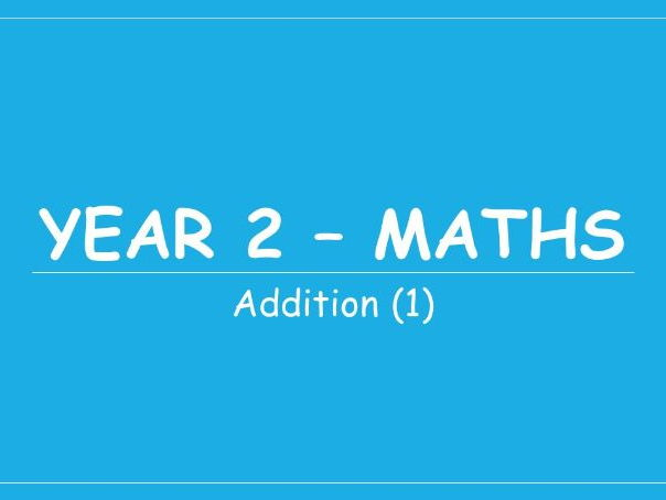 Year 2 - Maths Planning - Addition