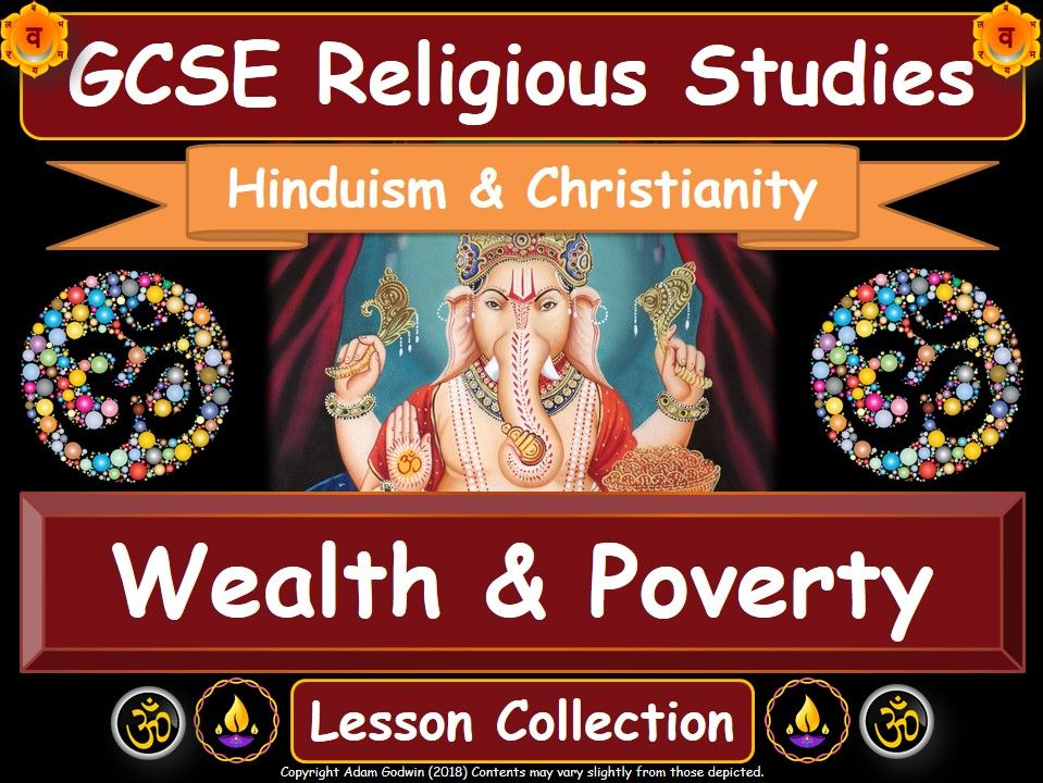 Wealth & Poverty - Hinduism & Christianity (GCSE Lesson Pack)
