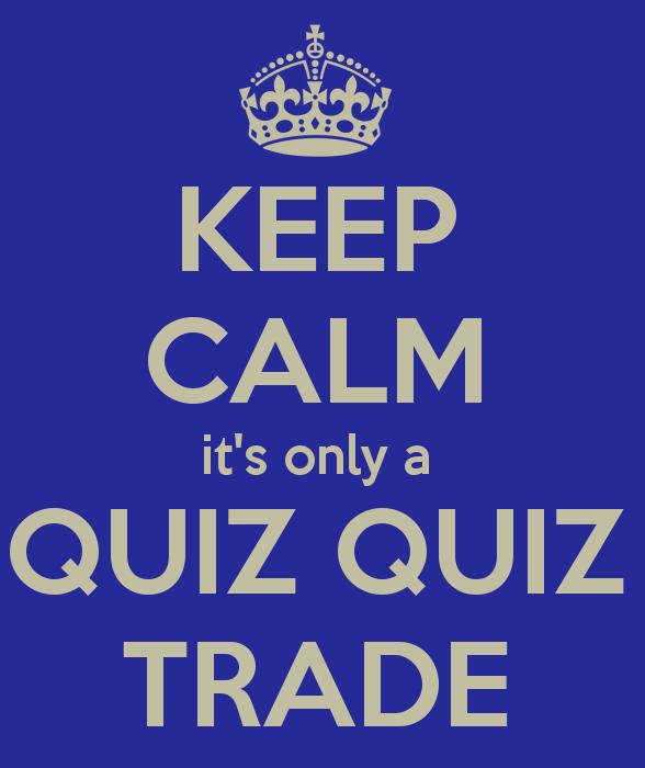 11 'Quiz, Quiz, Trade' activities