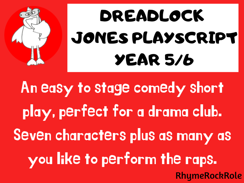 Play Script - short humorous play, Y5/6