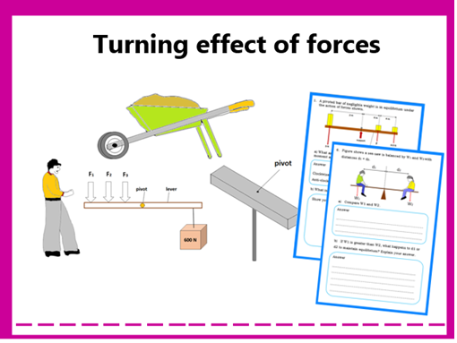 Turning Effect of forces (Moment/Torque)