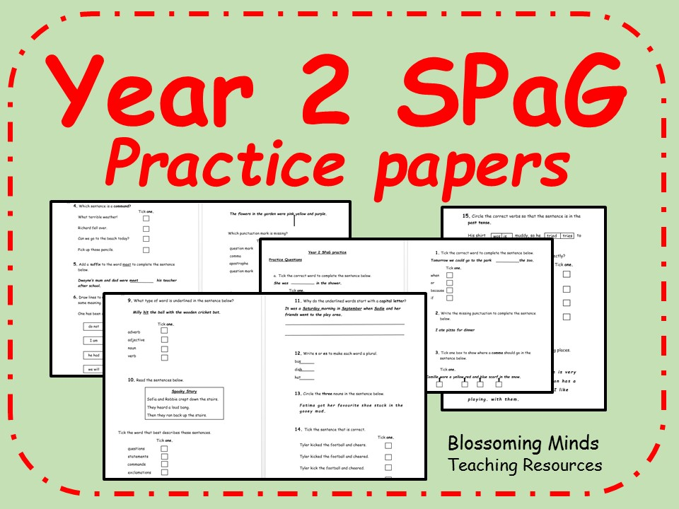 KS1 Spag Tests and Revision | Tes