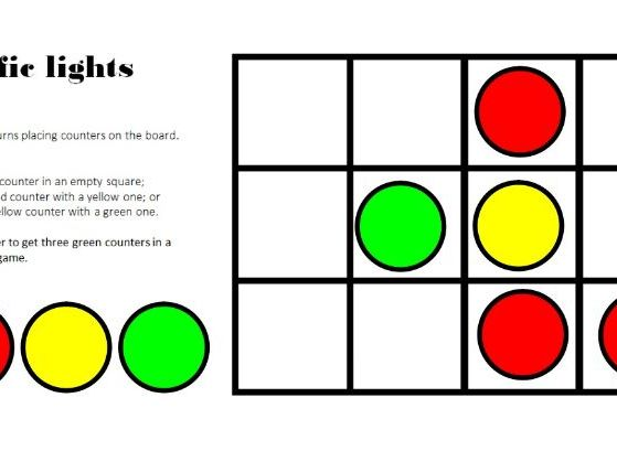 Traffic Lights Game for ActivInspire