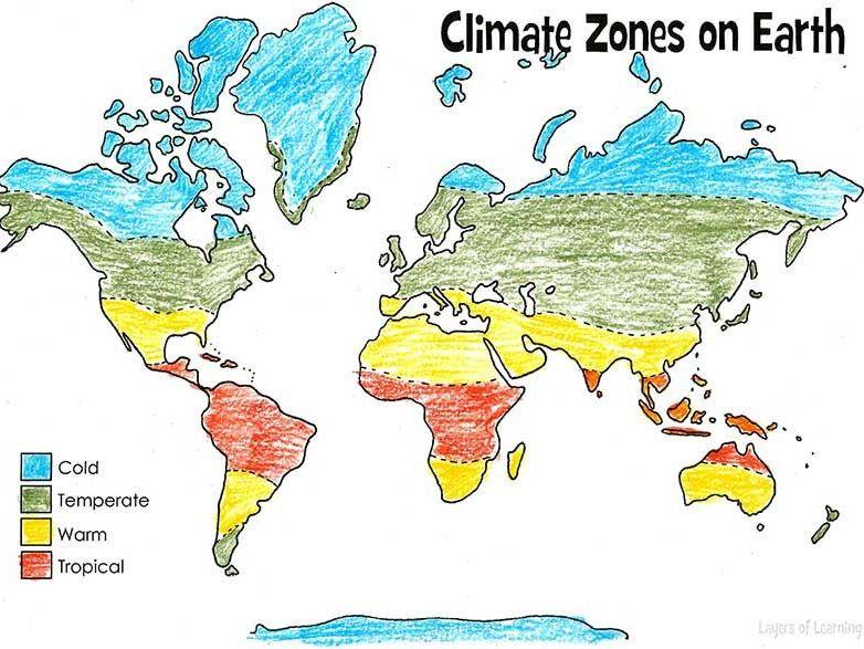 Climate Zones song   Geography   La La La Learn   Teaching ...