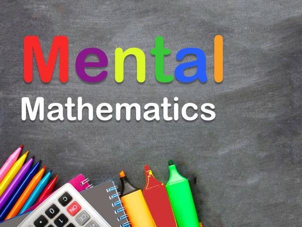 Maths Mental  Grade 1 and 2