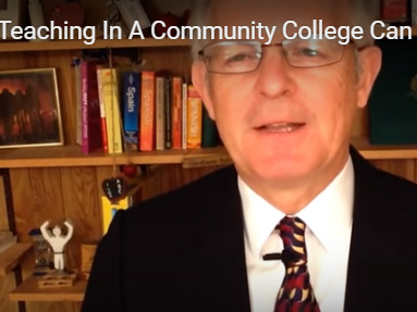 Teaching in a Community College Can be a Great Option Too