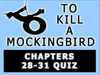 To Kill a Mockingbird Chapters 28-31 Quiz with Answer Key