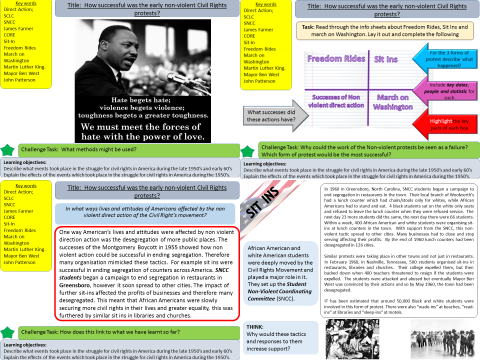 Civil Rights: How successful was non violent protest during the Civil Rights movement?