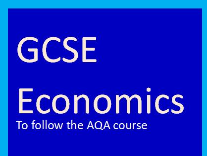 AQA GCSE Economics-Role of money and financial markets