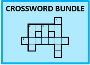 D'accord 2 Vocabulary Crossword Bundle