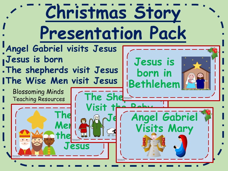 Christmas Story Presentation Pack