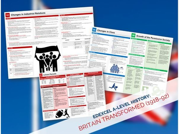 Edexcel A-Level History: Britain Transformed 1918-1992