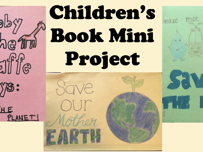 Conservation, Reducing, and Recycling Children's Book Mini Project