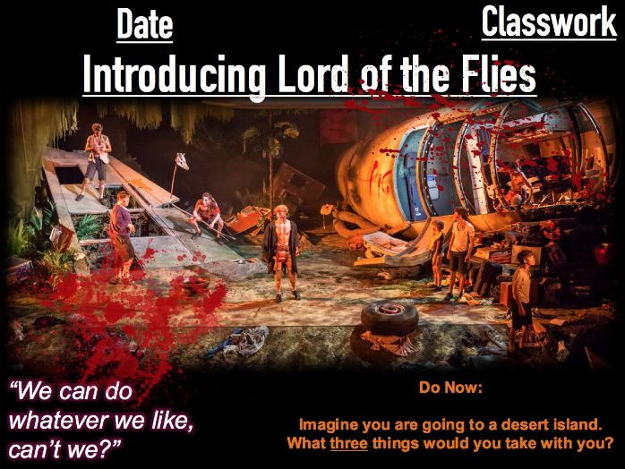 Introducing Lord of the Flies