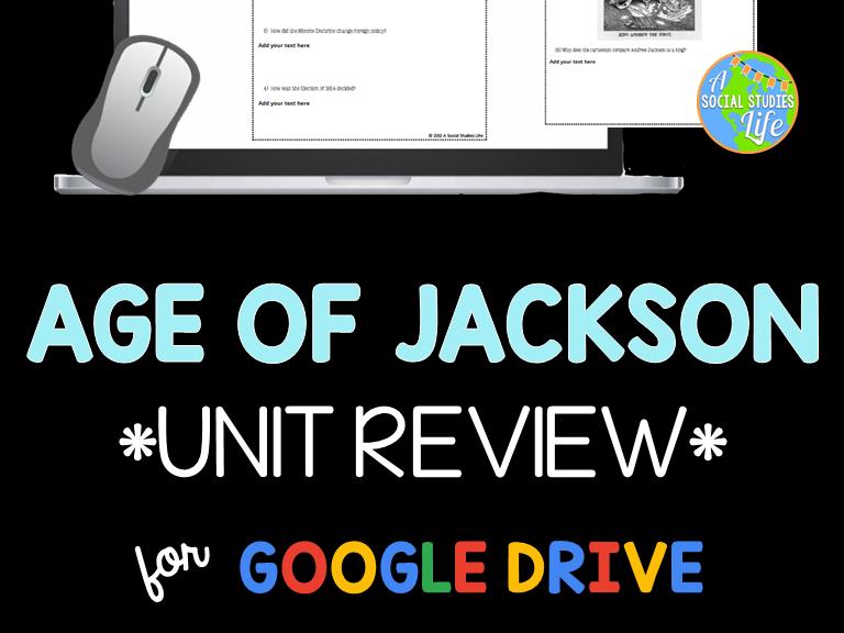 Andrew Jackson Unit Review