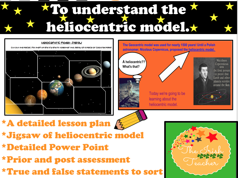 Space- The Heliocentric Model