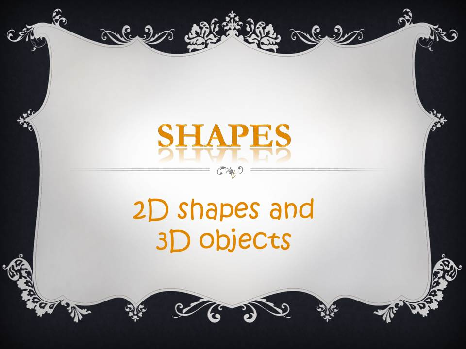 KS1 Resource: Matching Common 2D shapes to 3D Objects Worksheet