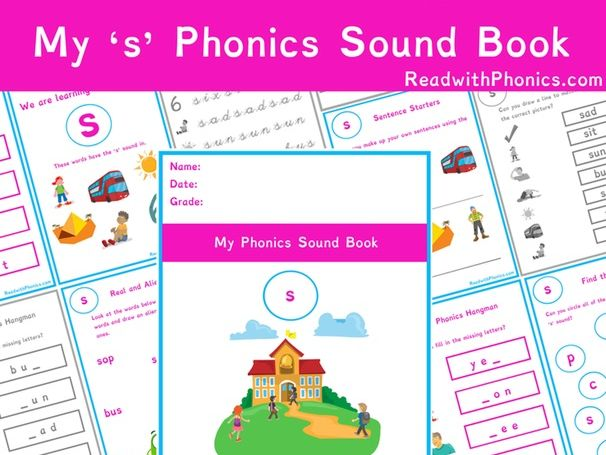 's' Sound Phonics Bundle 36 Pages | Phonics Resources | Phonics Worksheets | CVC Words | EYFS