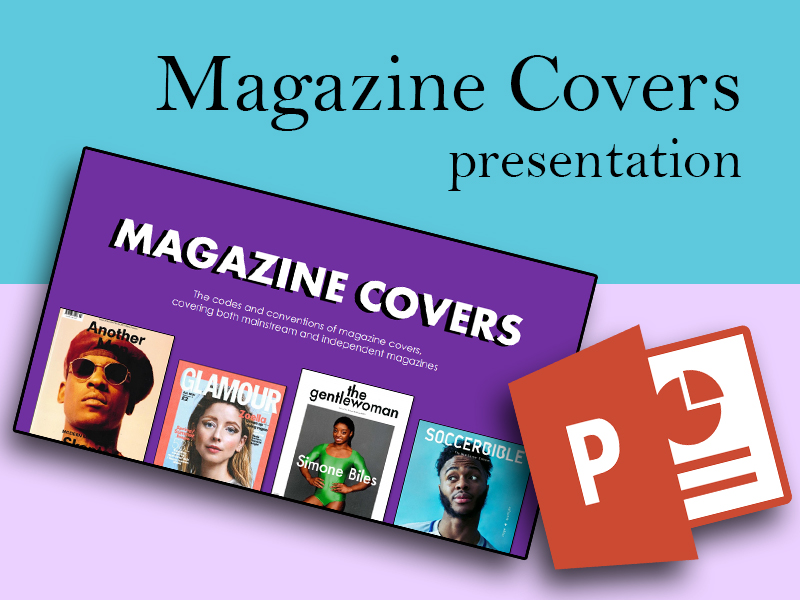 PRESENTATION: Magazine Covers