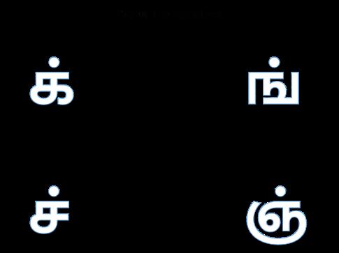 Tamil Mei ezhuthukkal