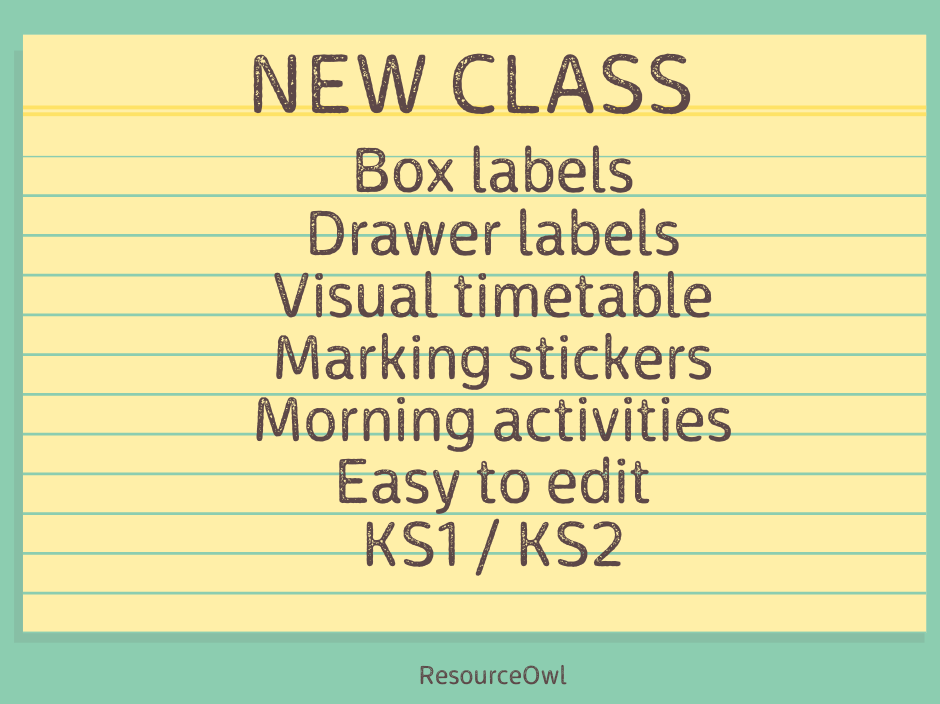 New class resource