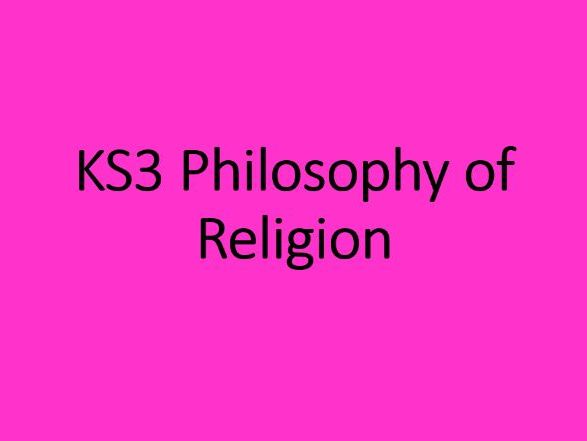 KS3 RS - Philosophy of Religion - Religion & Social Control