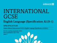 Edexcel IGCSE Language Paper 1 with Passage to Africa