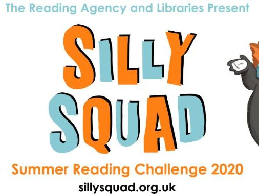 Summer Reading Challenge 2020 : Silly Squad resources and information for schools