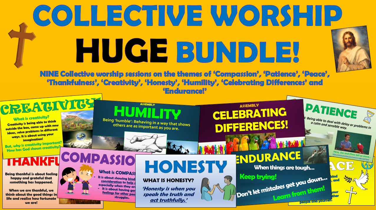 Collective Worship Huge Bundle!