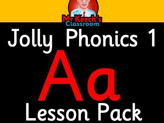 Phonics Worksheets, Lesson Plan, Flashcards | Jolly Phonics Letter A Lesson Pack
