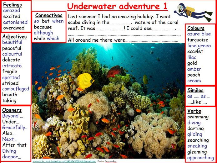 Story Mats - Underwater Adventure - inc plans, lesson starter PPTs and presentations