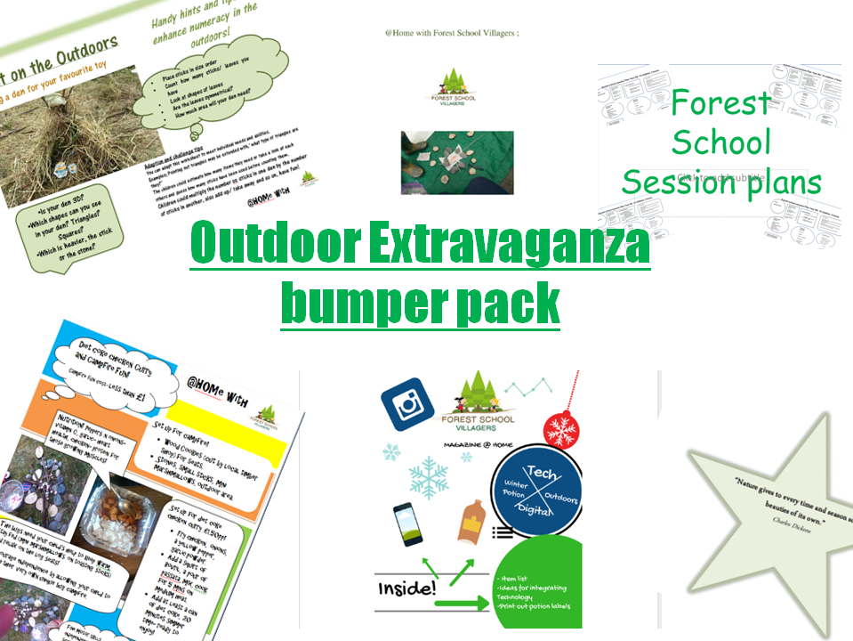 Outdoor/ forest school activity bumper pack extravaganza!