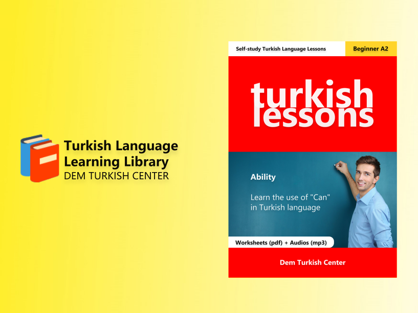 Turkish Lessons 2: Ability (A2) PDF + MP3