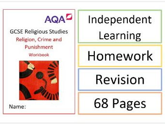 AQA GCSE RS: Philosophy and Ethics: Religion, Crime and Punishment Workbook