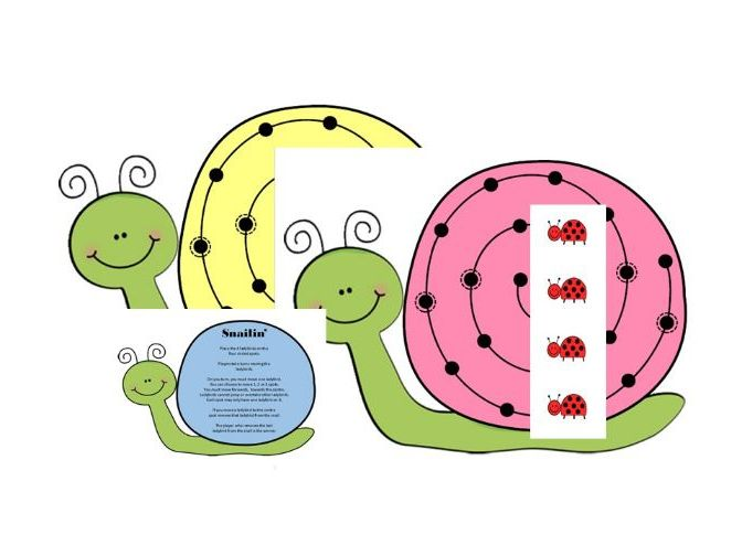 Snail Race Strategy Game - Counting and Critical Thinking for Early Years