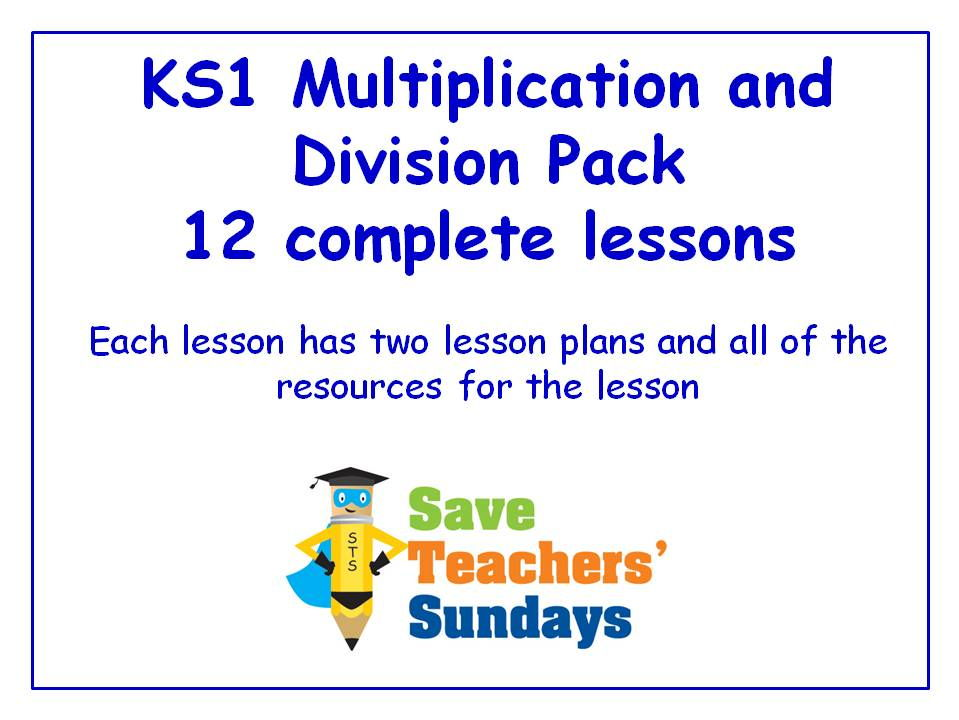 Multiplication and Division Arrays KS1 Worksheets Lesson plans – Division Worksheets Ks1