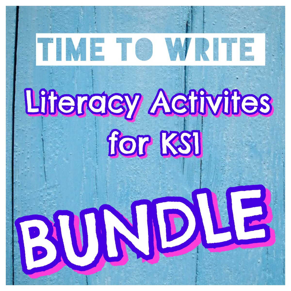Time to Write Bundle for KS1 by PollyPuddleduck - Teaching Resources ...