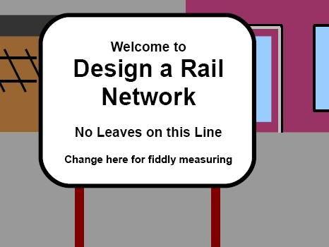 Design a Rail Network