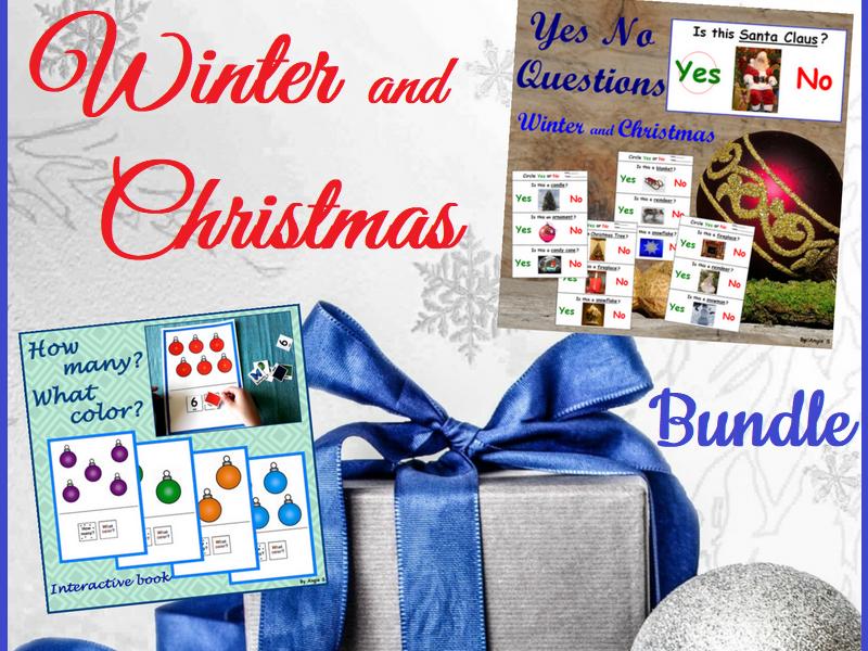Winter and Christmas Bundle
